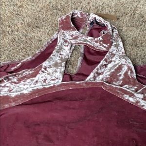American Eagle Outfitters Tops - American Eagle Long-sleeved Velvet Top